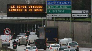 70 kmh sur le périphérique parisien