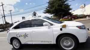 Concept Car Google de voiture autonome