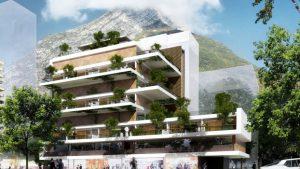 Immeuble d'habitation à l'architecture RUBIXHOME
