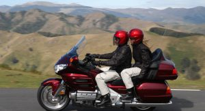 Taxi-Moto Goldwing avec passager