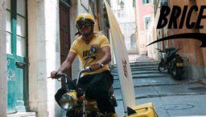 taxi moto Roissy en version Brice de Nice