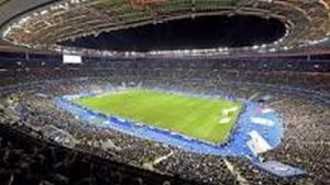 Stade de France un soir de match de Rugby