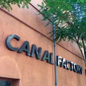 La Façade briques des Studios de BOULOGNE rebaptisés CanalFactory